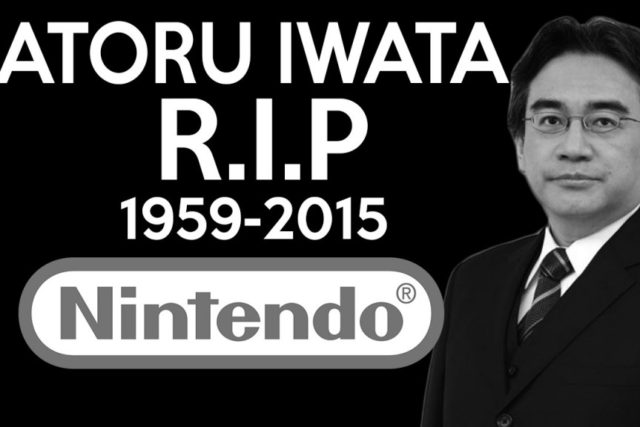 SATORU IWATA, presidente de Nintendo ha fallecido