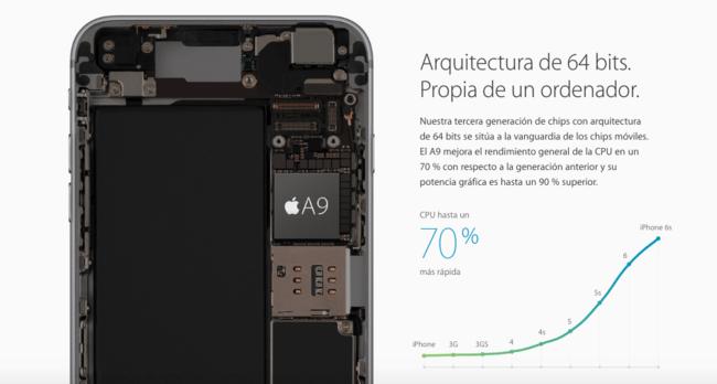 Iphone 6s procesador