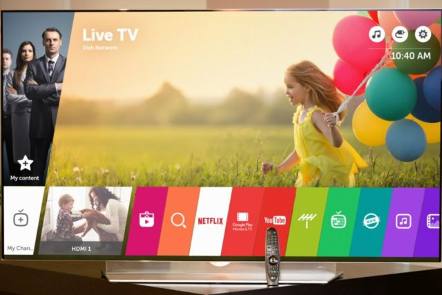 WebOS 3.0 actualización para la plataforma de TV de LG