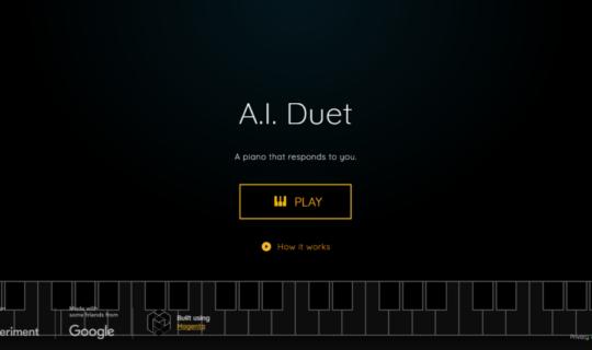 Google AI Duet