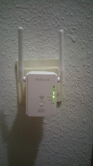 Extensor de red WiFi Dodocool Antenas