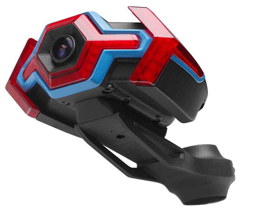 Hexagon cámara trasera bici