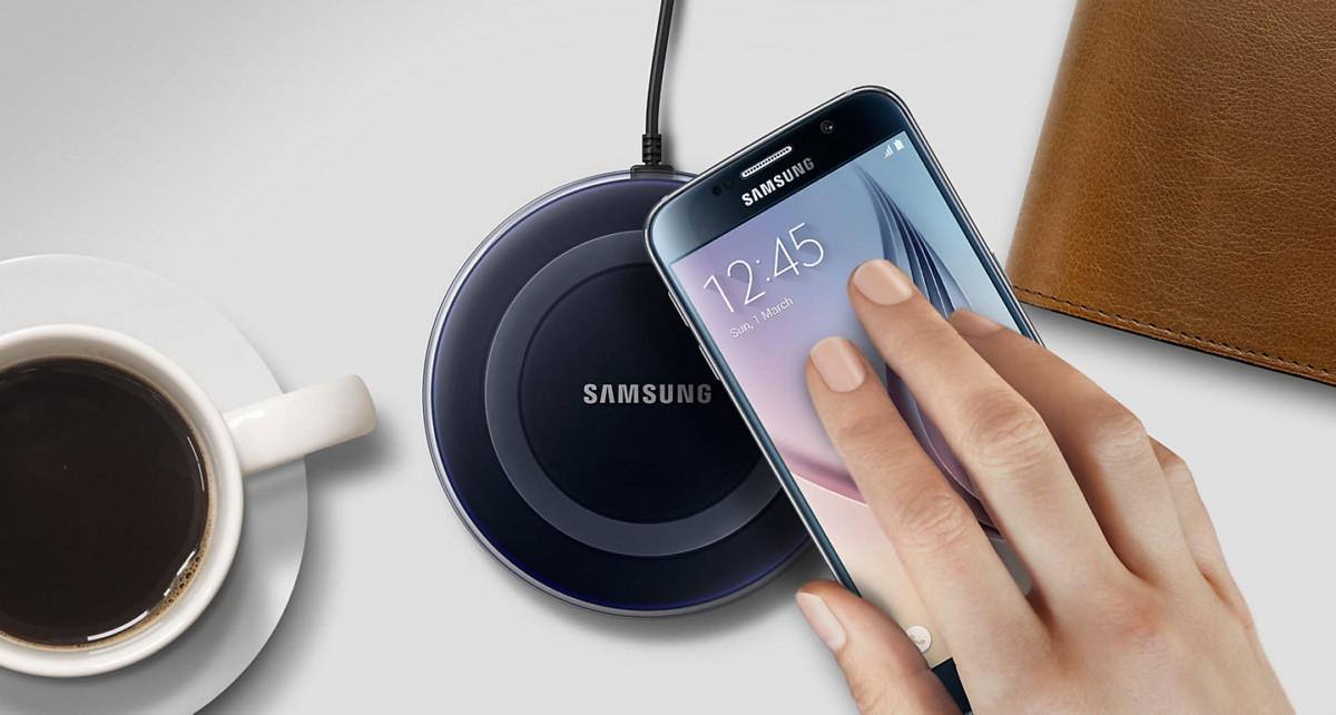 Cargador inalámbrico Samsung Galaxy S8