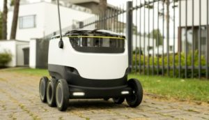 StarShip Technologies Robot repartidores