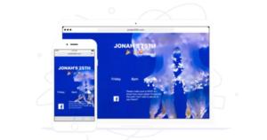 universe crear páginas web en iOS