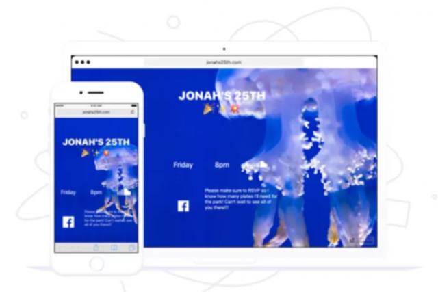 universe crear páginas en iOS