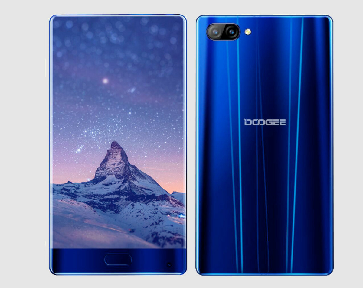 Doogee Mix: un móvil chino sin marcos laterales