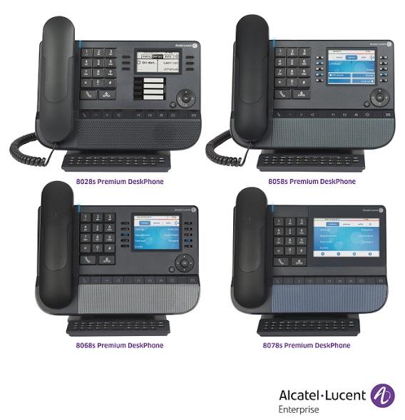 Alcatel-Lucent Premium DeskPhones