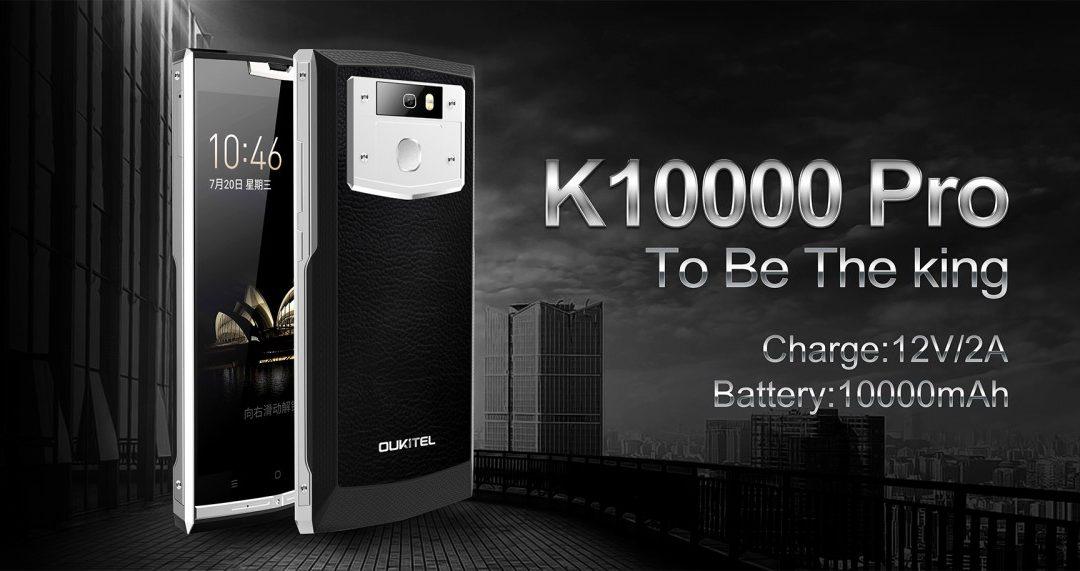 Oukitel K10000 Pro revela todas sus especificaciones de manera oficial