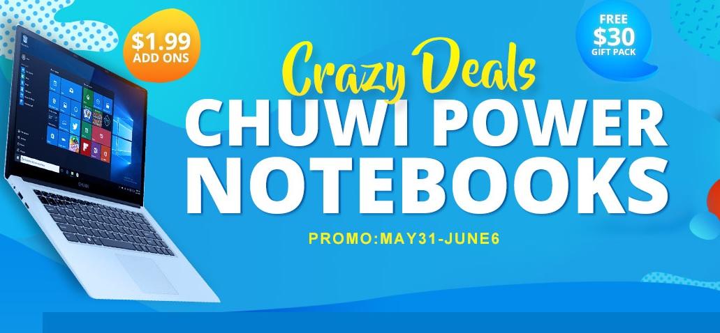 Promocion Gearbest CHUWI