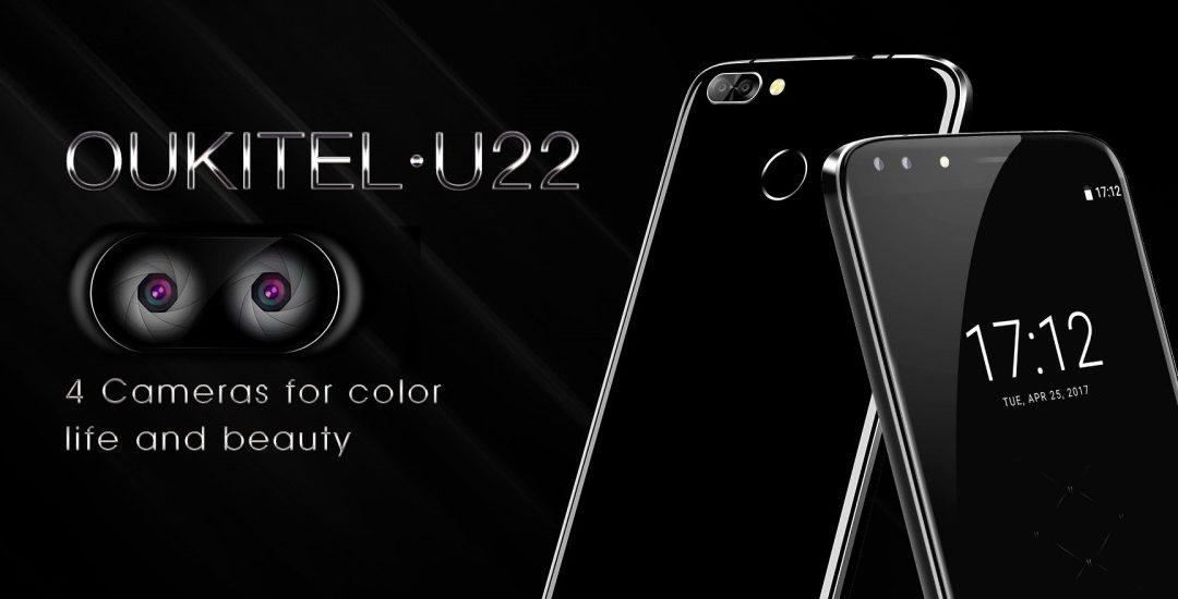 Oukitel U22 – Cuatro cámaras en un solo smartphone