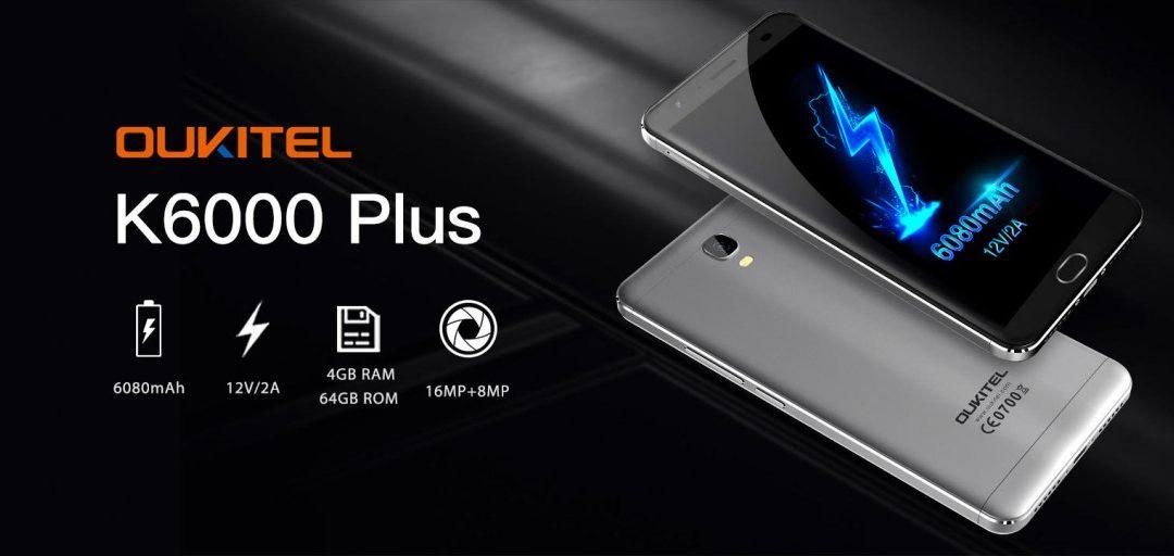 Oukitel K6000 Plus: gama media en oferta y a precio de remate