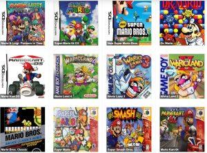 Videojuegos Mario Bros
